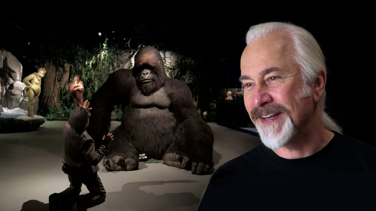 In the studio with Rick Baker - Master of Makeup   Oscars.org ...