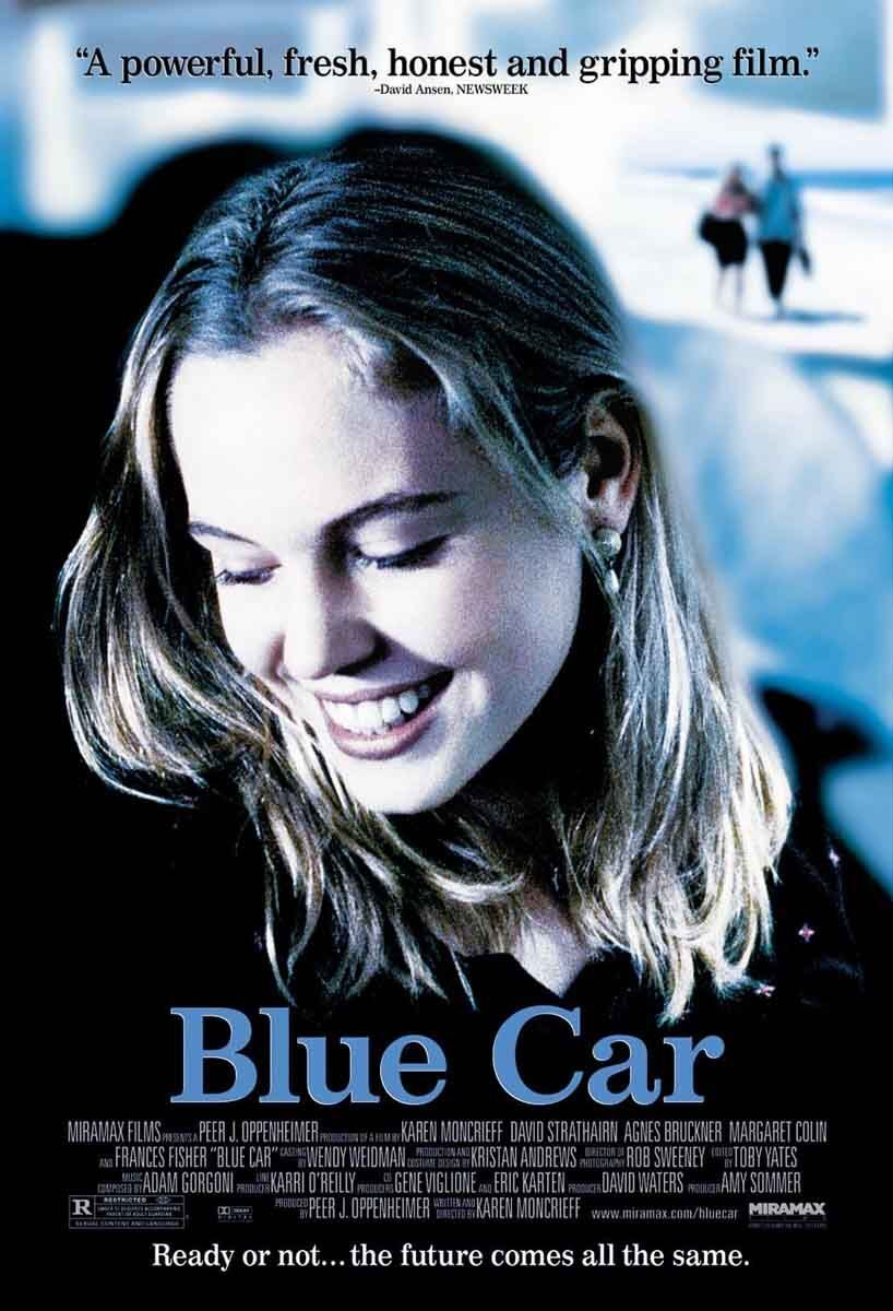 Movie Poster - Blue Car