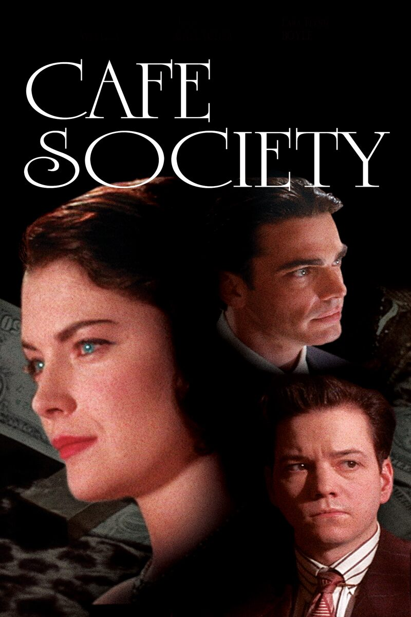 Movie Poster - Cafe Society