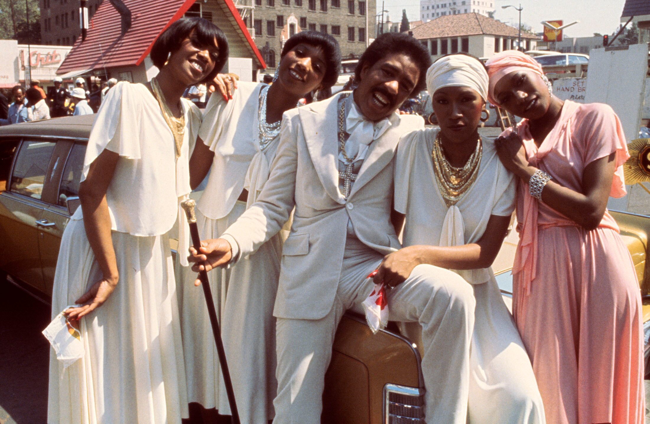 Richard Pryor and The Pointer Sisters