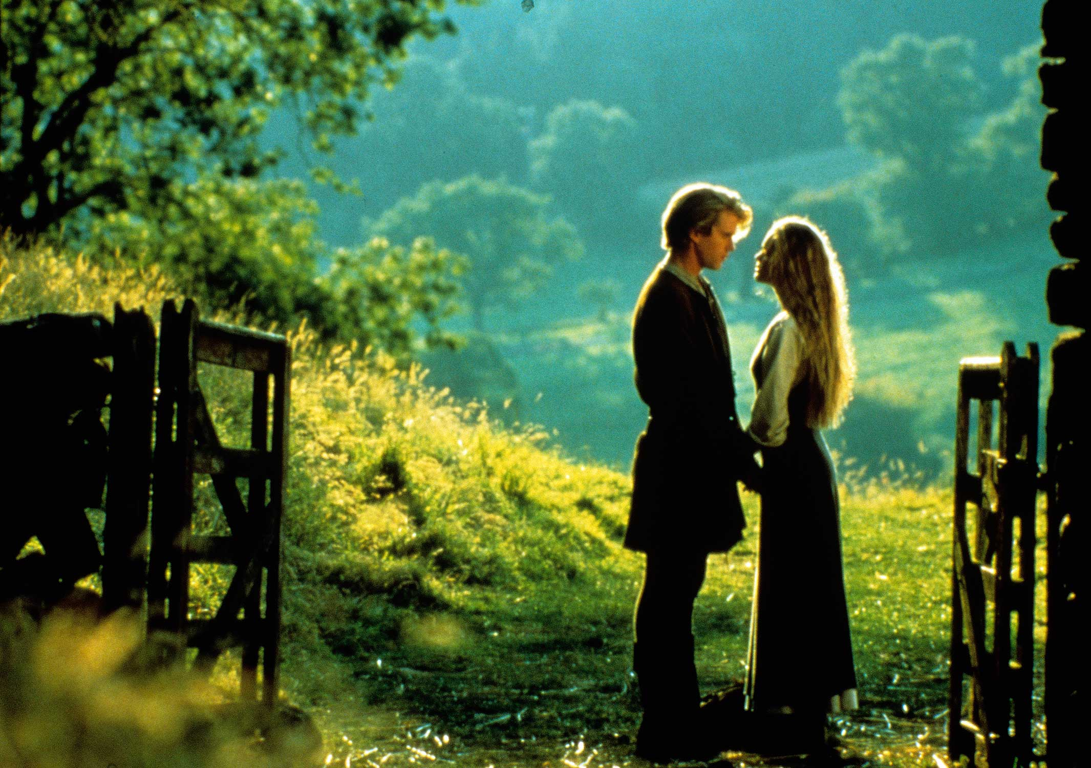 Cary Elwes and Robin Wright