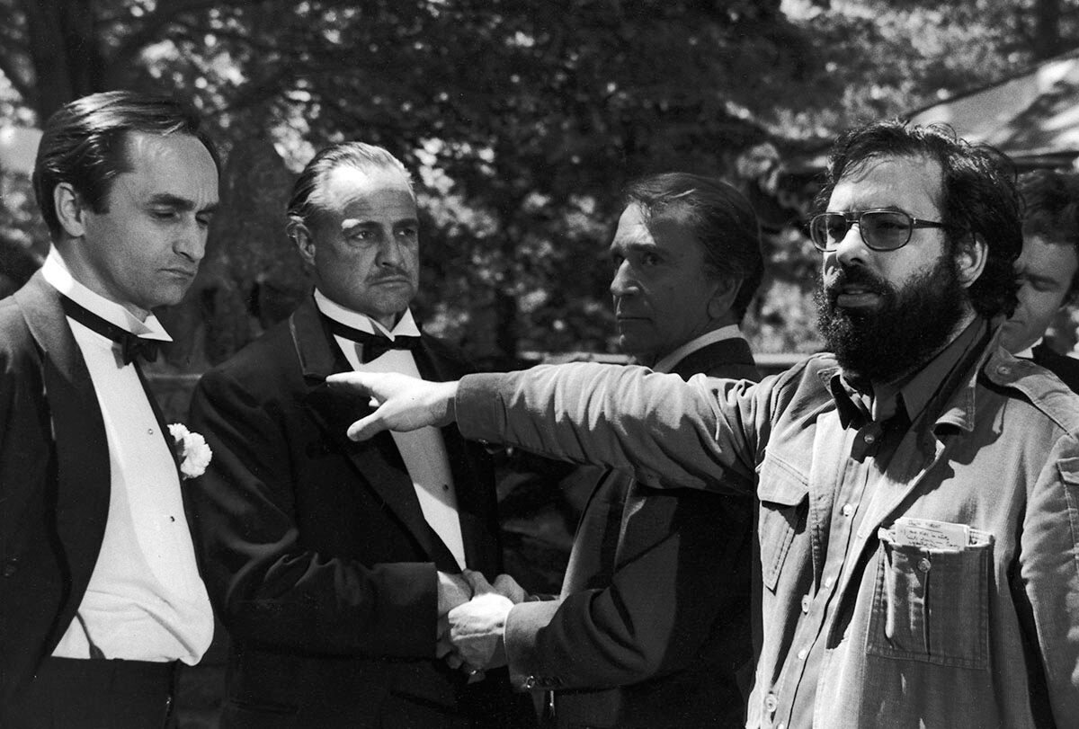 making The Godfather with Marlon Brando, Francis Ford Coppola