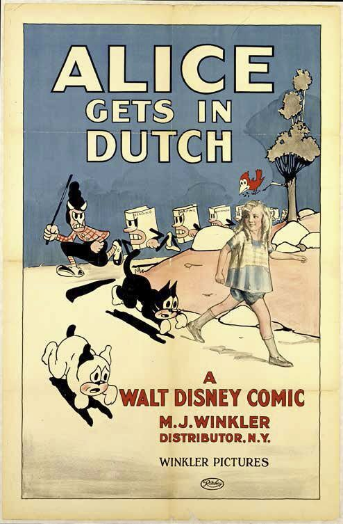 Movie poster for Alice Gets in Dutch (1924)