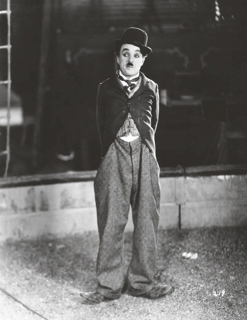 "Charles Chaplin in ""The Circus"""