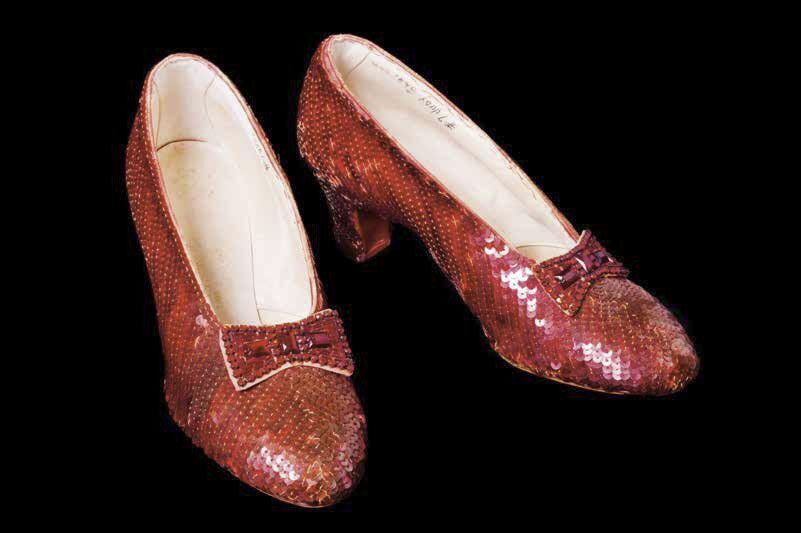 "Ruby Slipper from the ""Wizard of Oz"""