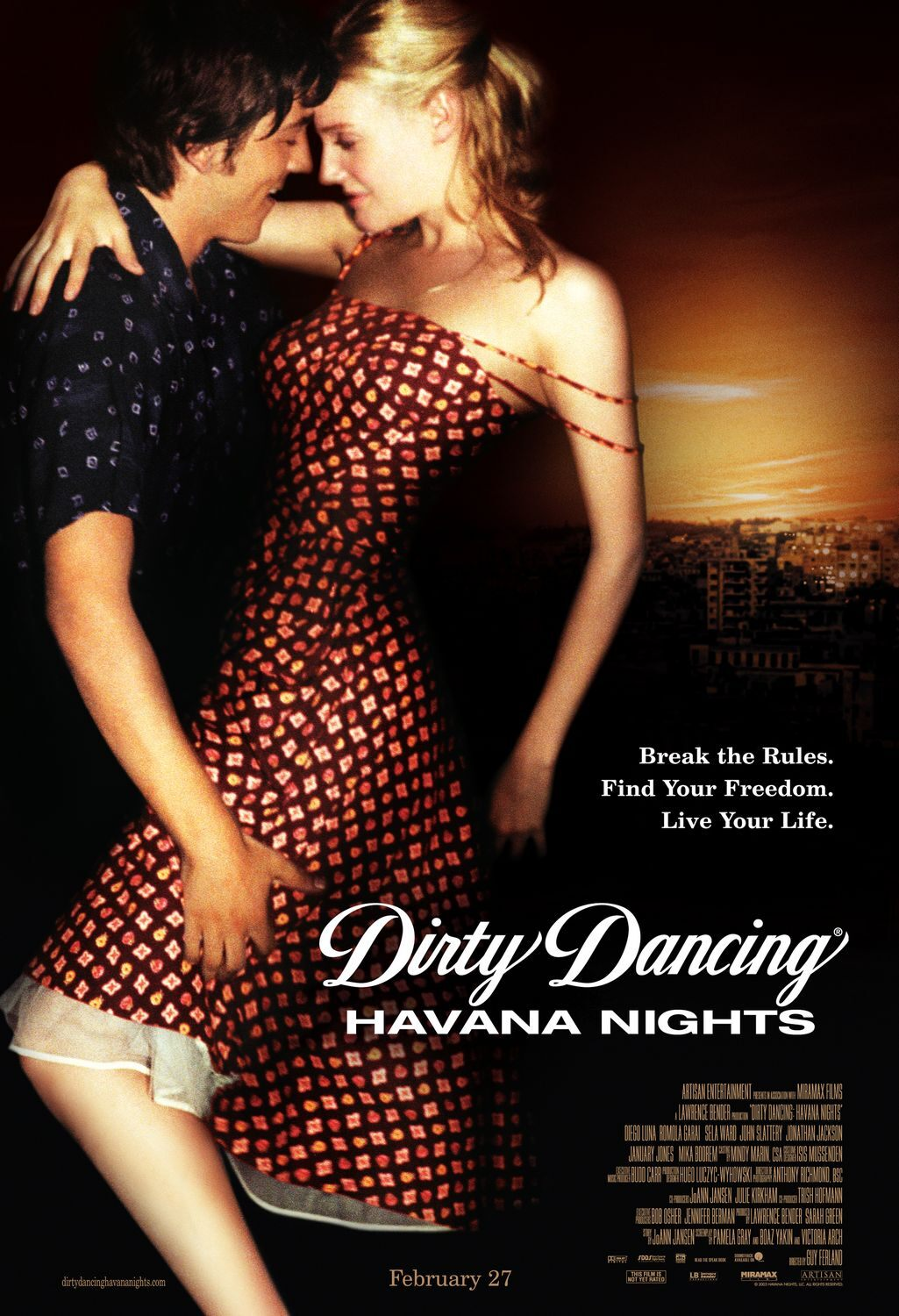 Movie Poster - Dirty Dancing: Havana Nights