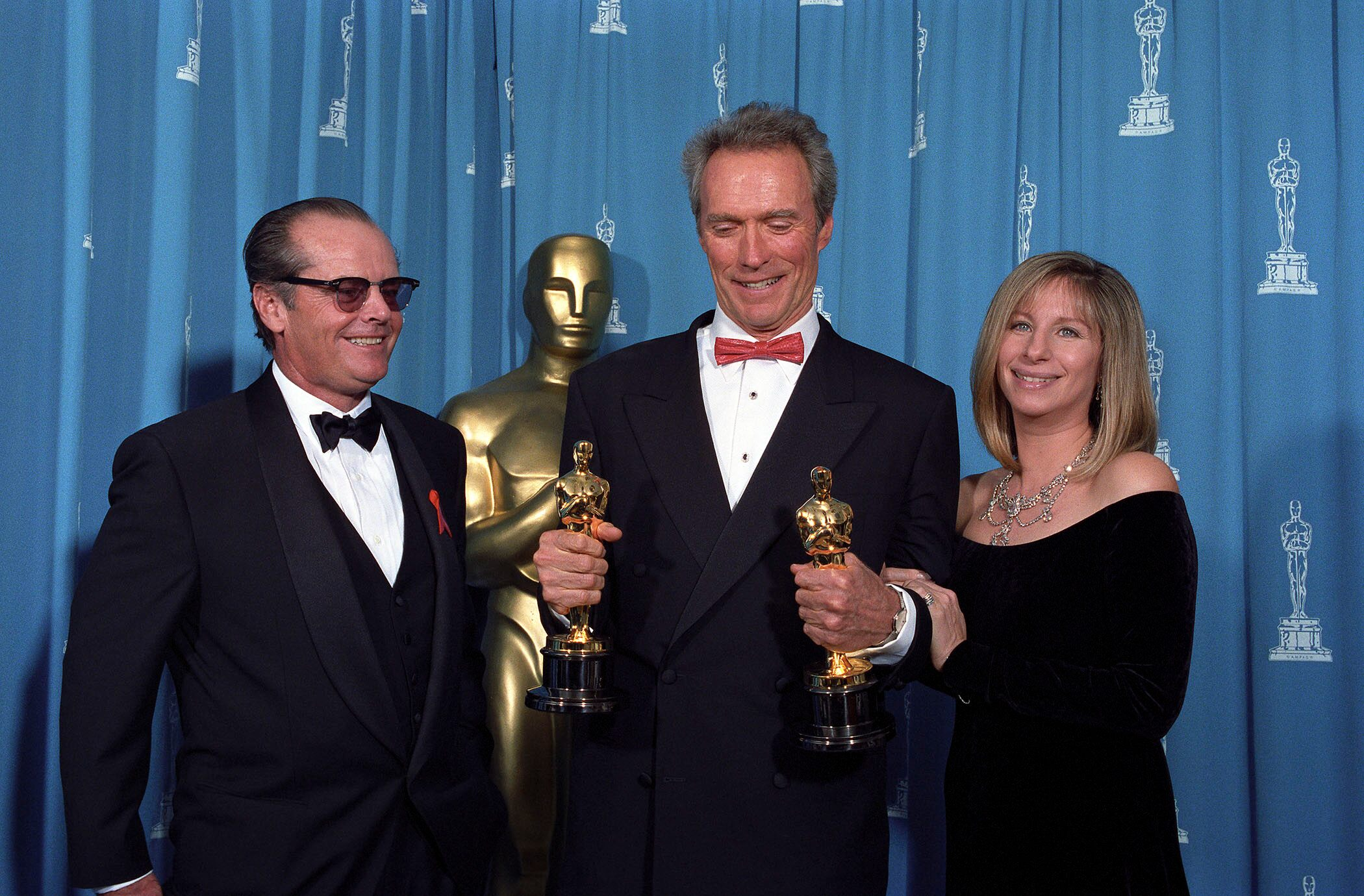 Jack Nicholson, Clint Eastwood and Barbra Streisand