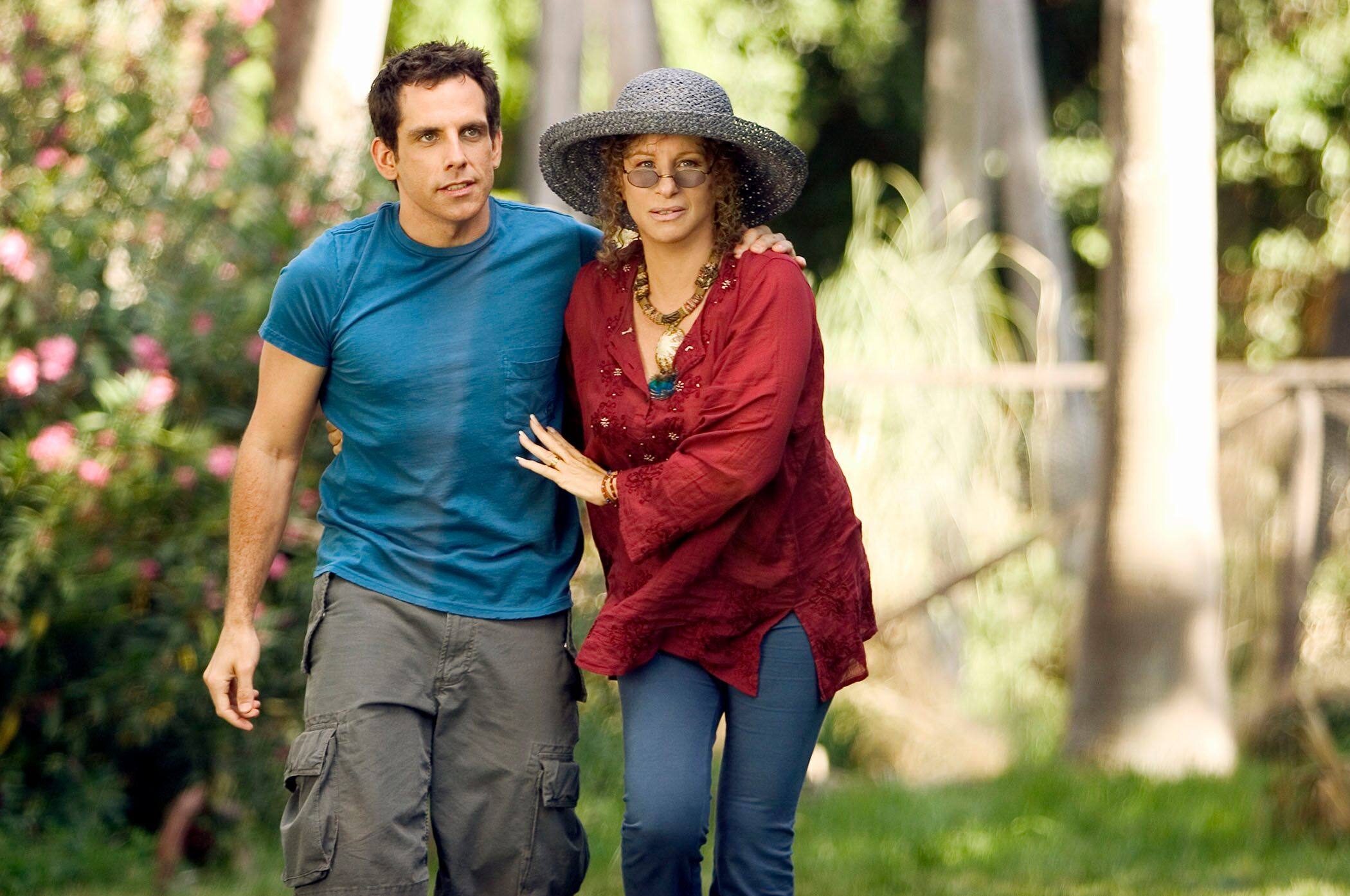 Barbra Streisand and Ben Stiller