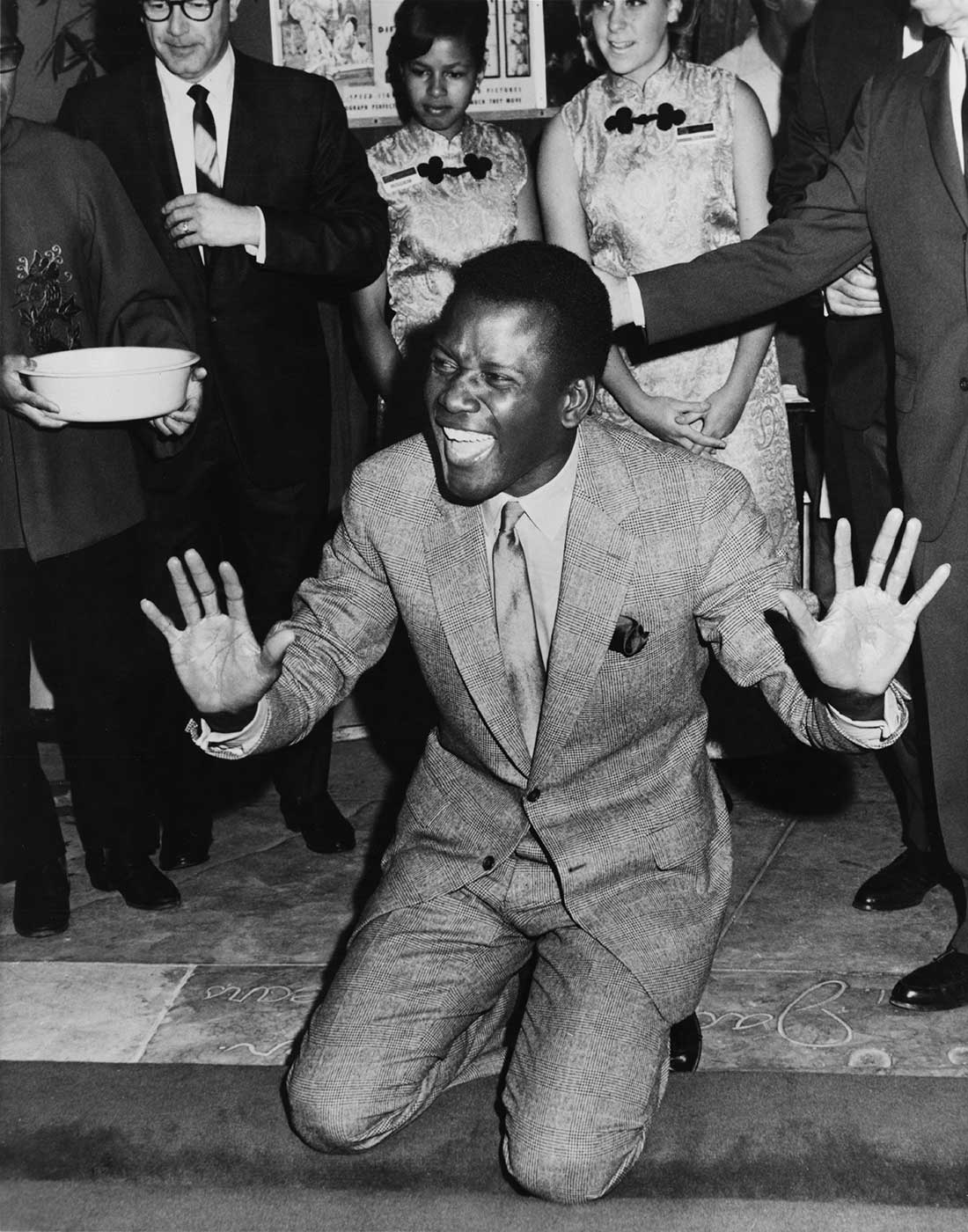 Sidney Poitier - Grauman's Chinese Theater
