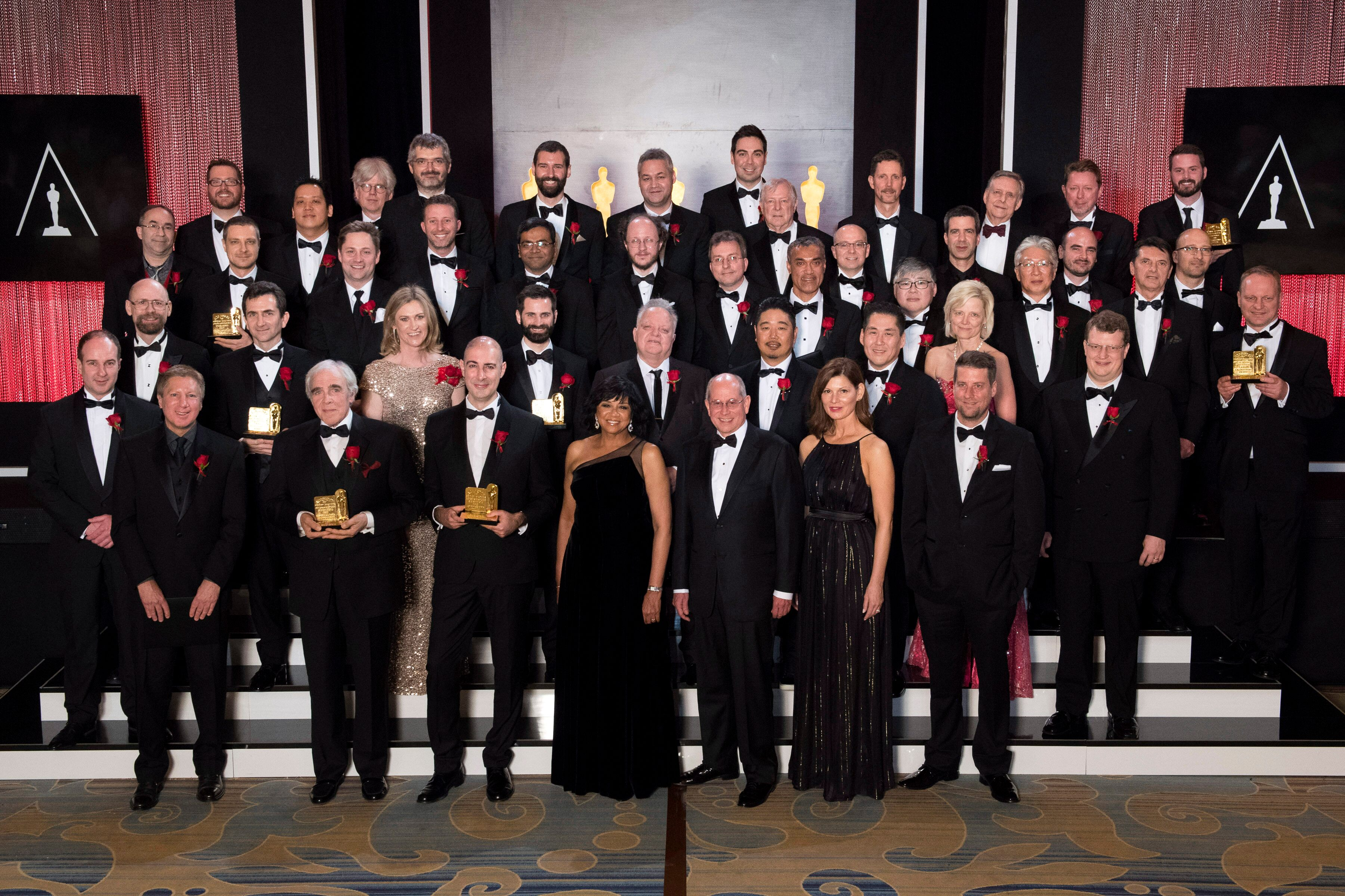 The Scientific & Technical Awards Group Photo