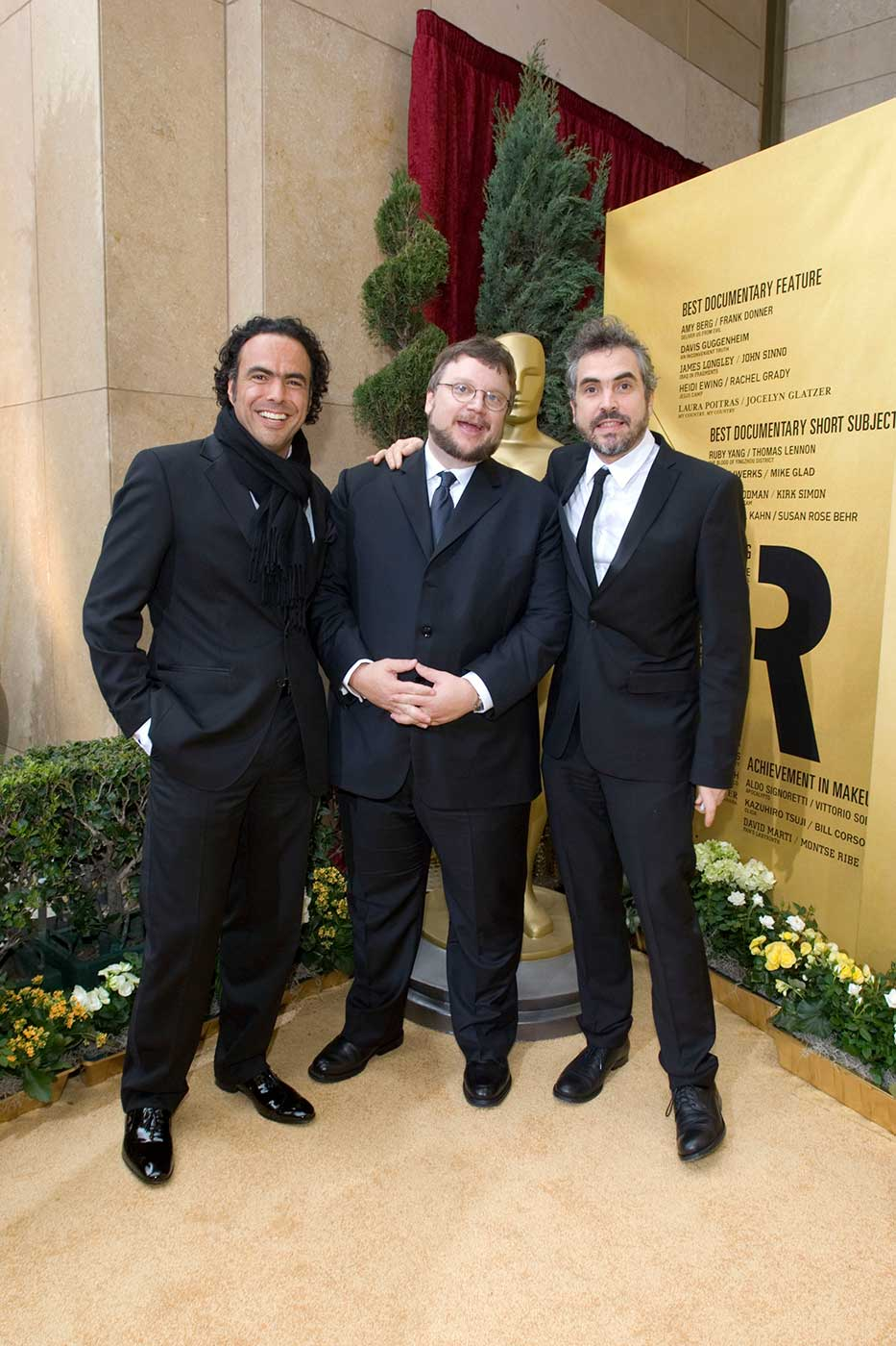 In 2007, the three major Mexican-born filmmakers joined up at the Academy Awards.