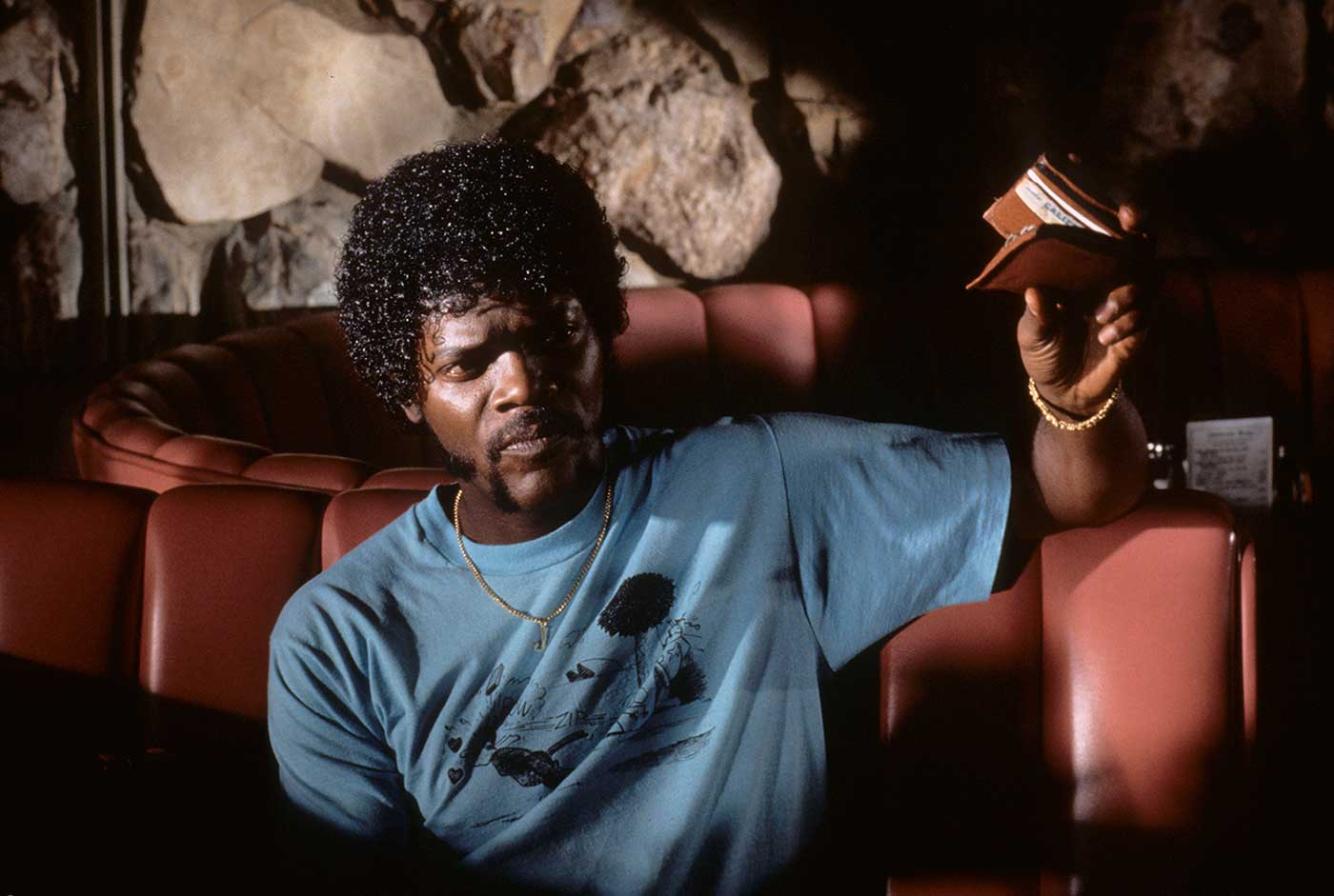 As Jules, the PULP FICTION actor received an Oscar nomination for Supporting Actor; he made the film one year after another Tarantino-written film, TRUE ROMANCE.