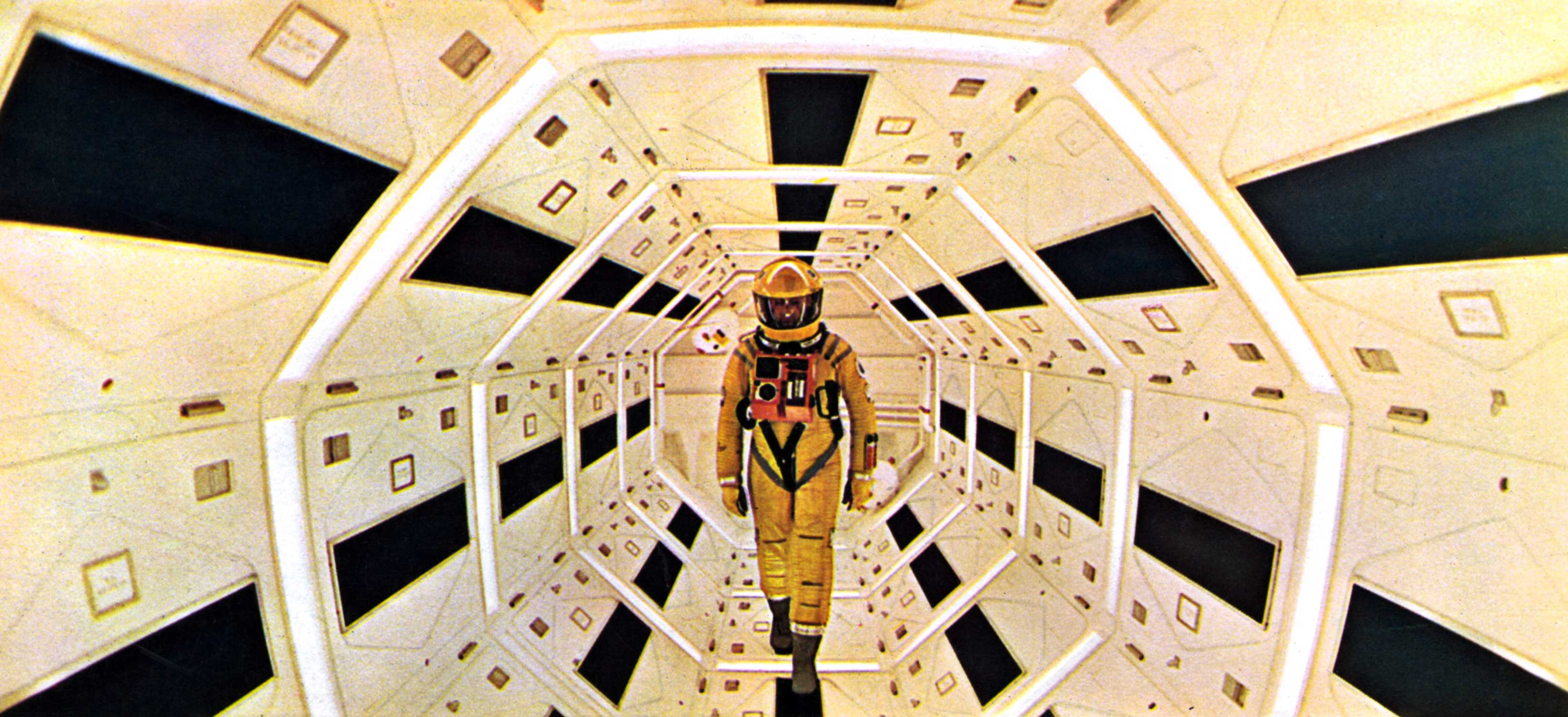 Keir Dullea in a Scene from 2001 A Space Odyssey