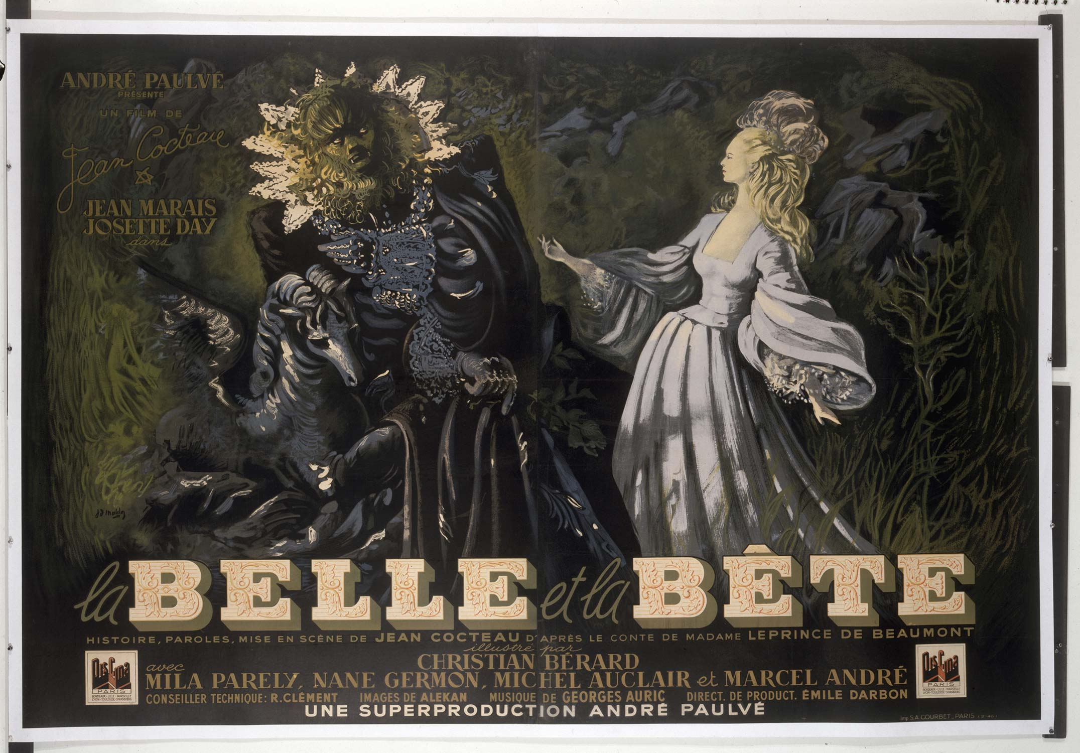 La Belle et la Bete Movie Poster