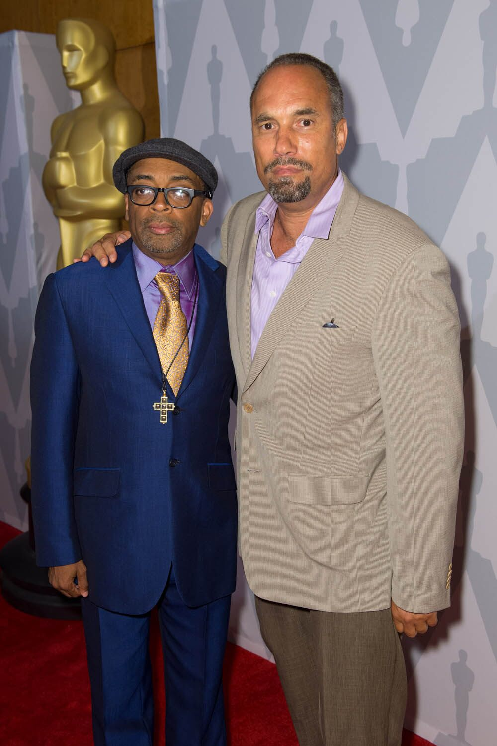 Director Spike Lee (left) and Actor Roger Guenveur Smith