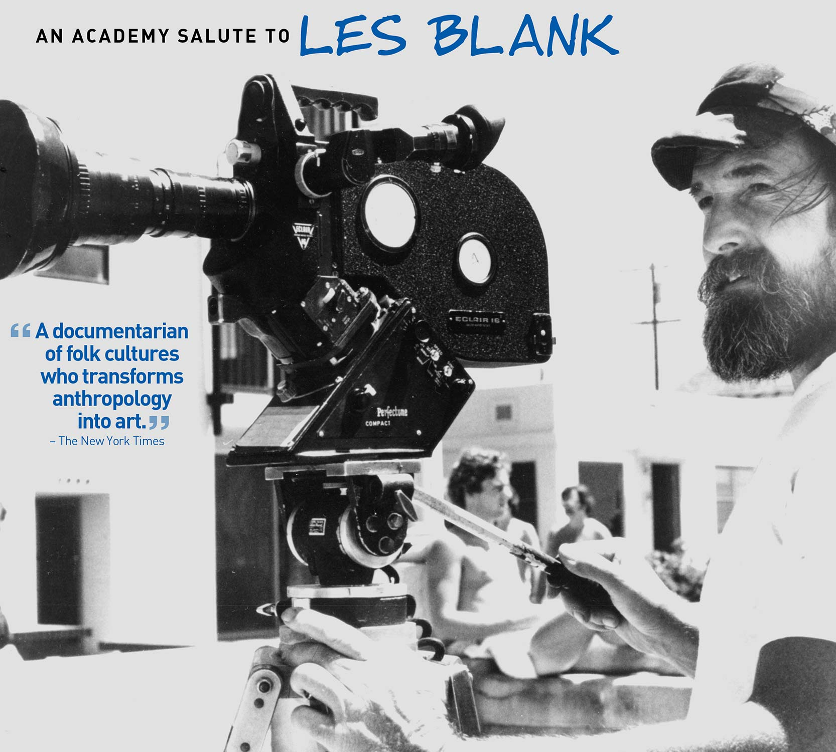 An Academy Salute to Les Blank poster.