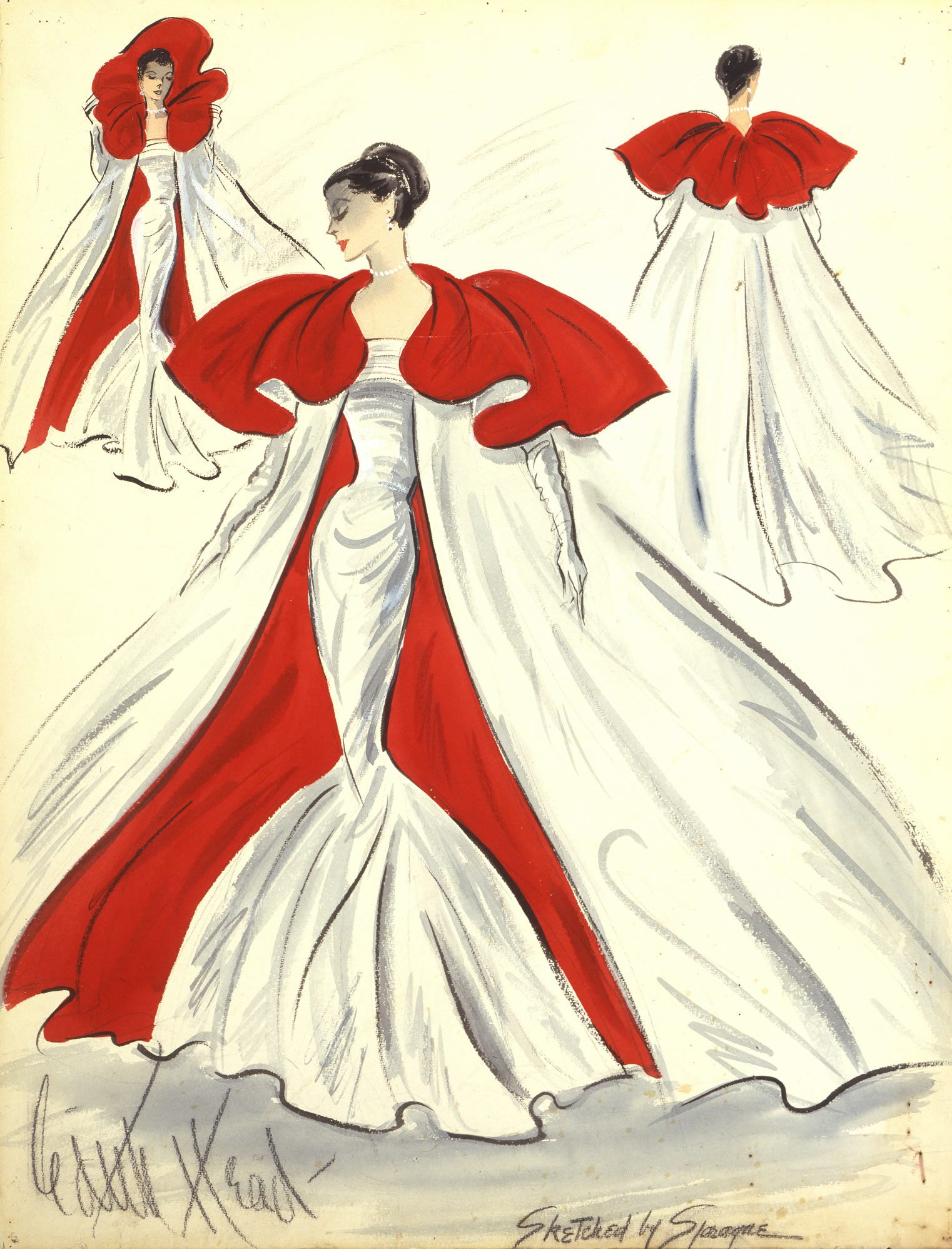 A Costume Design by Edith Head