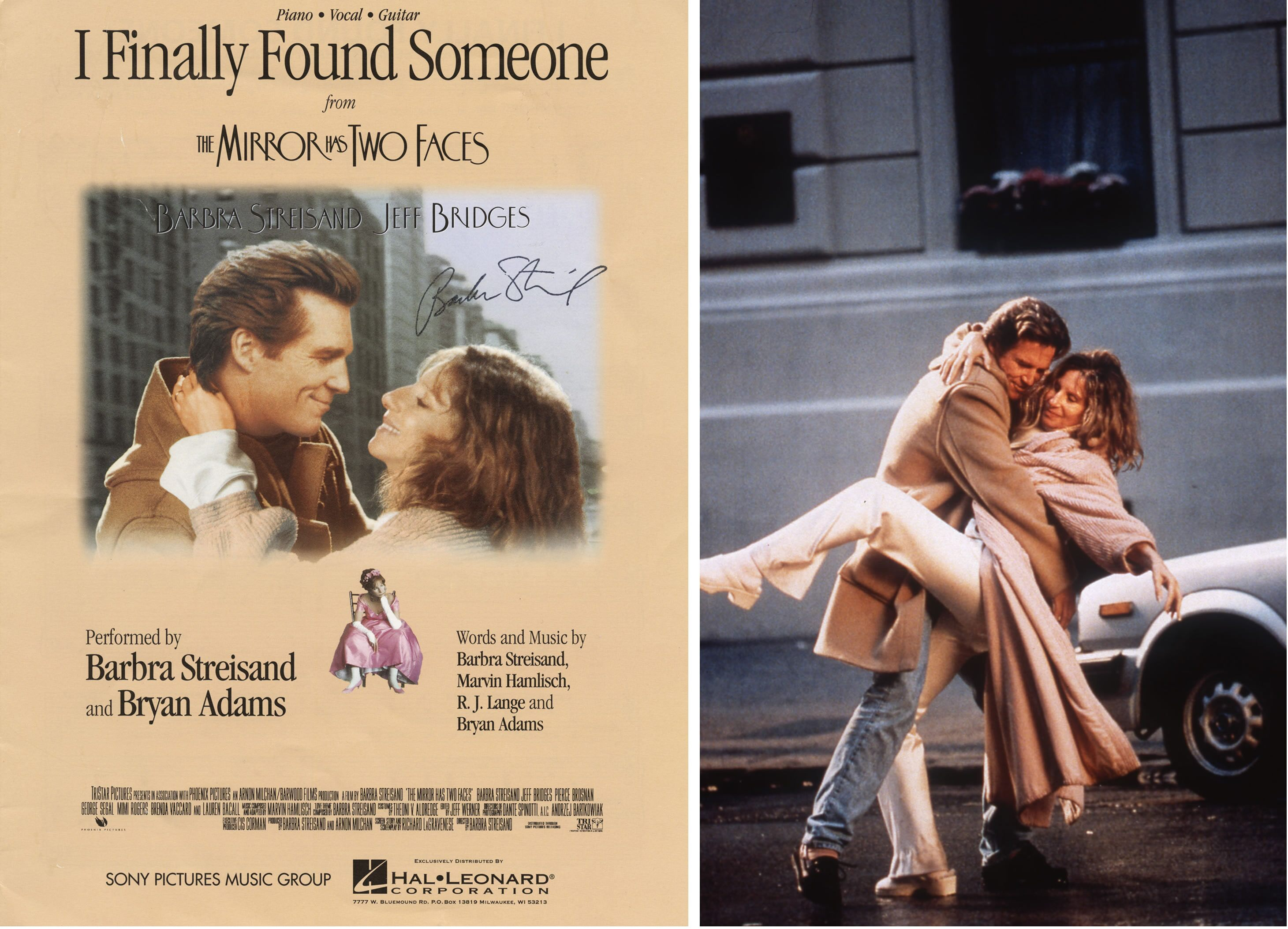 Jeff Bridges and Barbra Streisand; music by Marvin Hamlisch