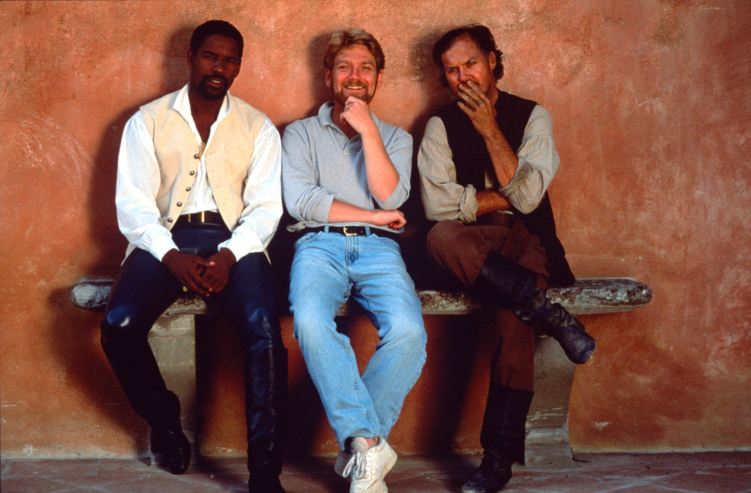 Denzel Washington, Kenneth Branagh, Michael Keaton