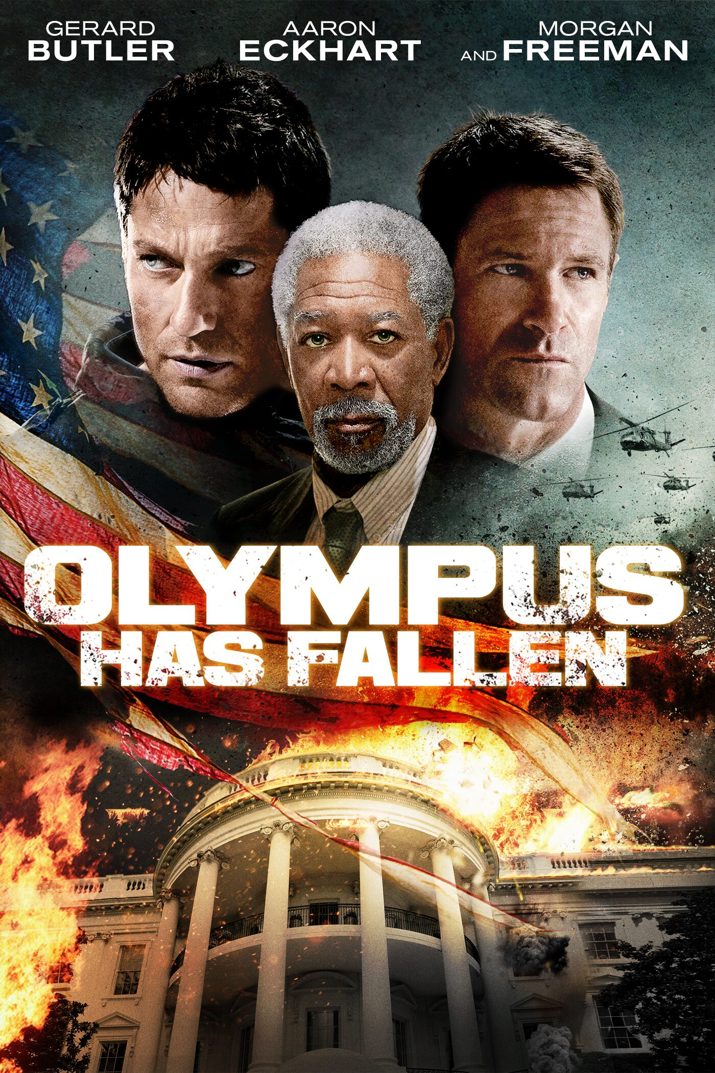 Movie Poster - Olympus Has Fallen