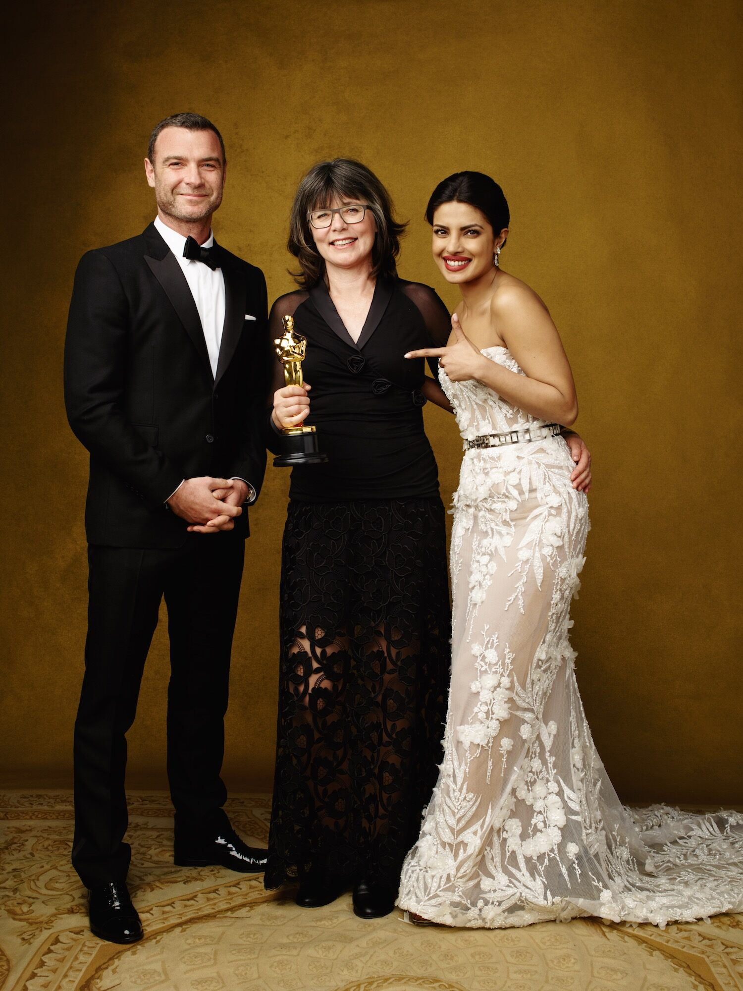 Film Editing, with presenters Liev Schreiber and Priyanka Chopra