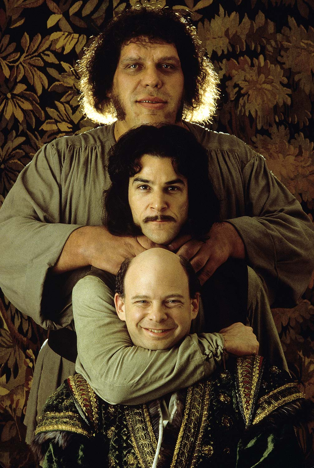 Andre the Giant, Mandy Patinkin and Wallace Shawn