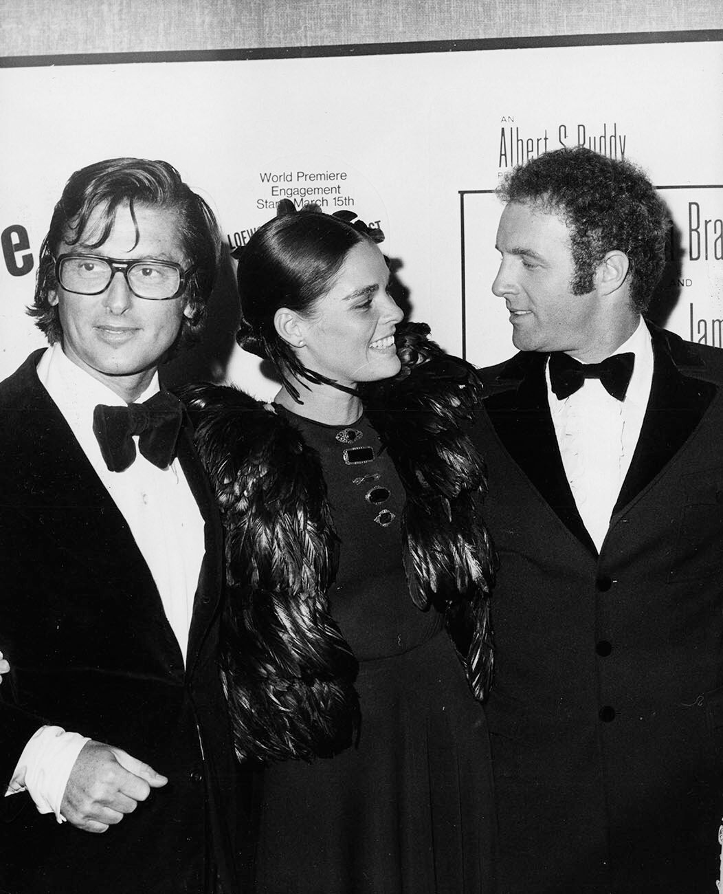 Robert Evans, Ali McGraw, James Caan
