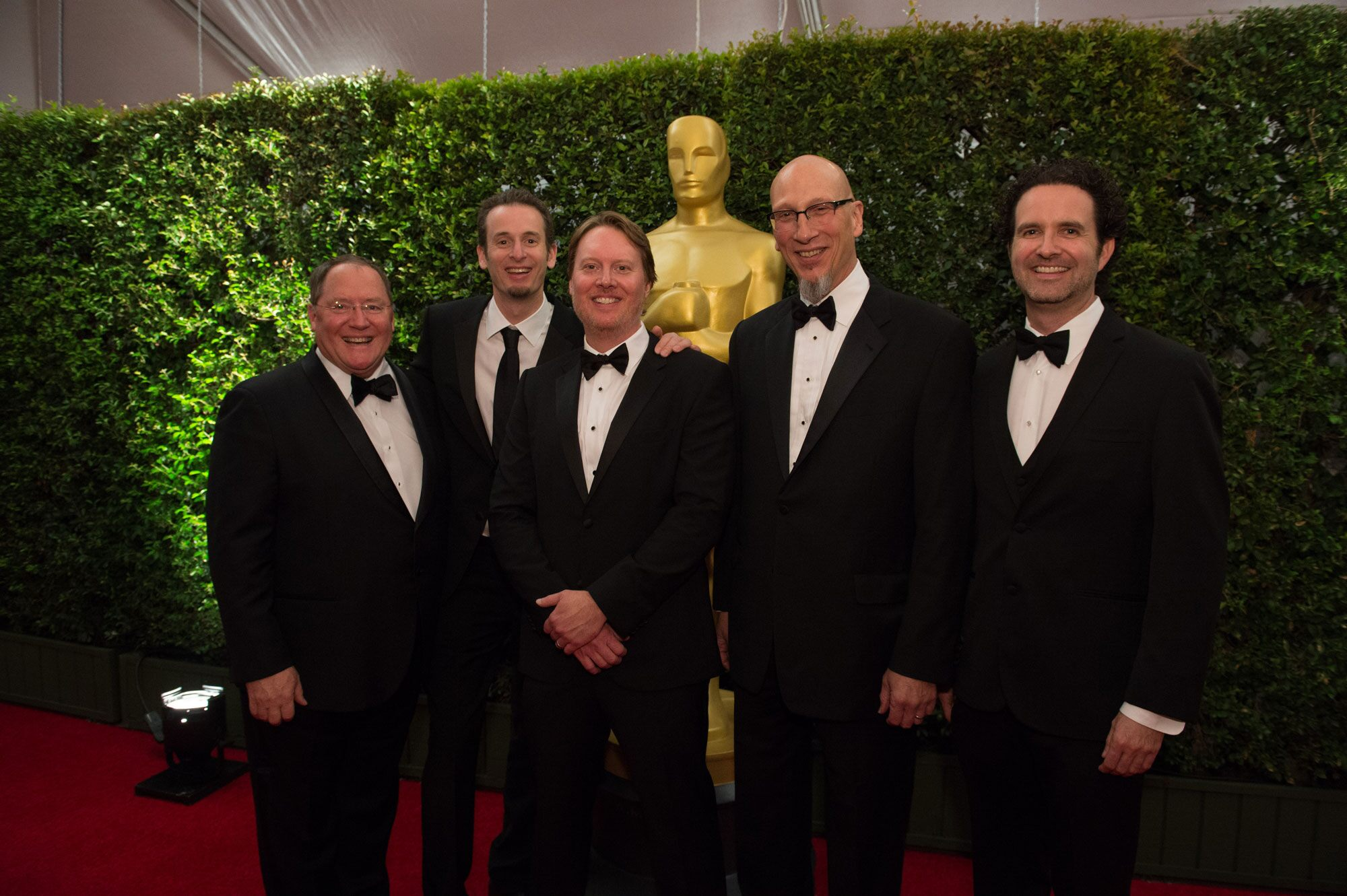"""John Lasseter with the team from """"Big Hero 6"""" at the 6th Annual Governors Awards"""