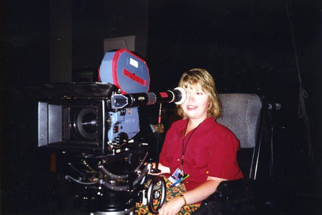 7.Jenni Gold on location directing first feature film.