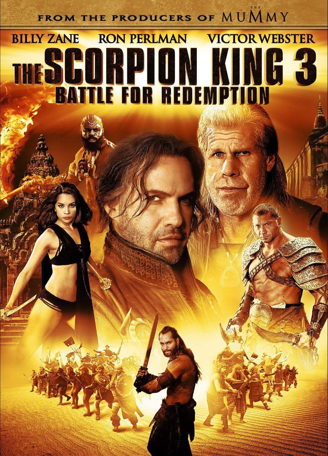 Movie Poster - The Scorpion King 3: Battle for Redemption