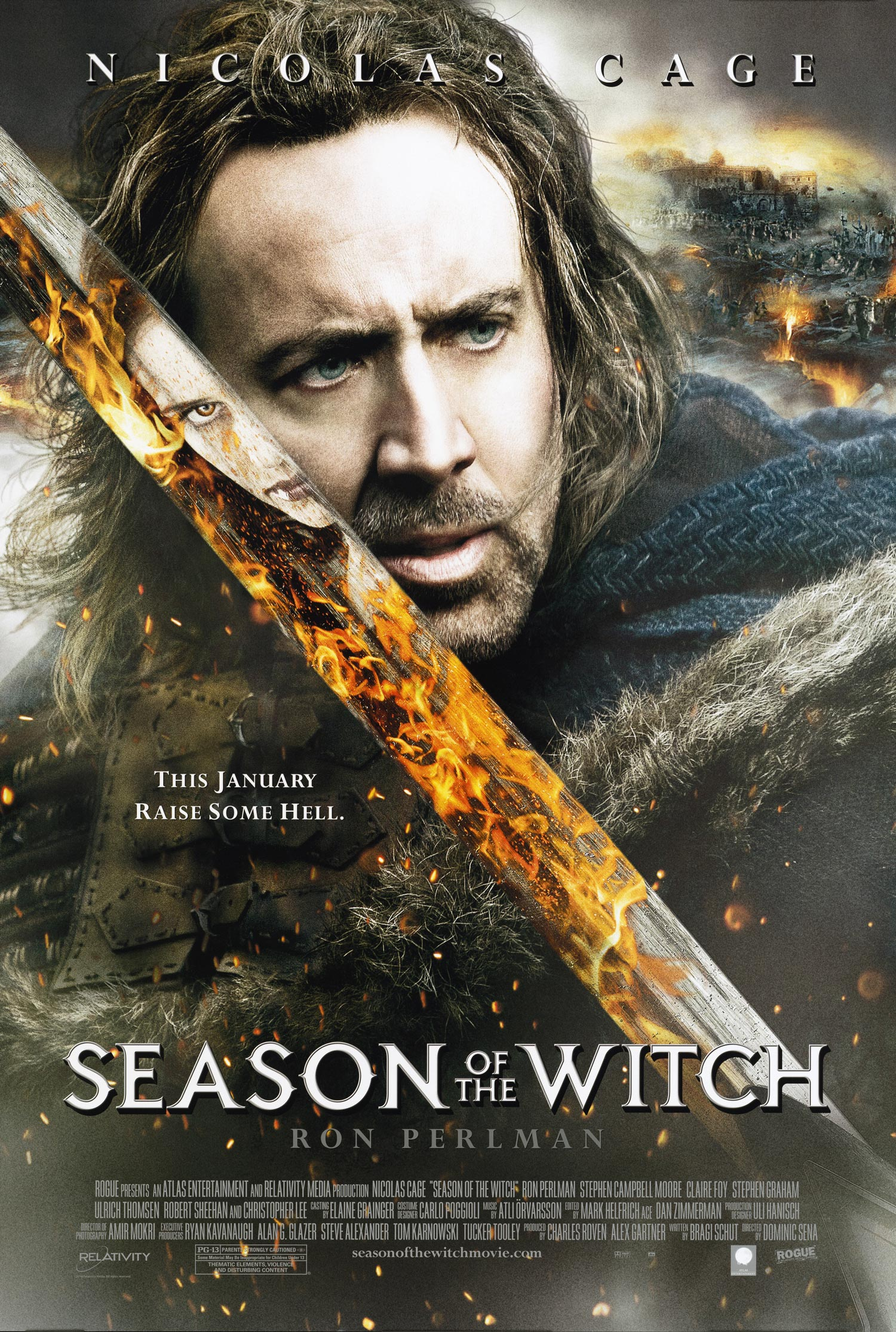 Movie Poster - Season of the Witch