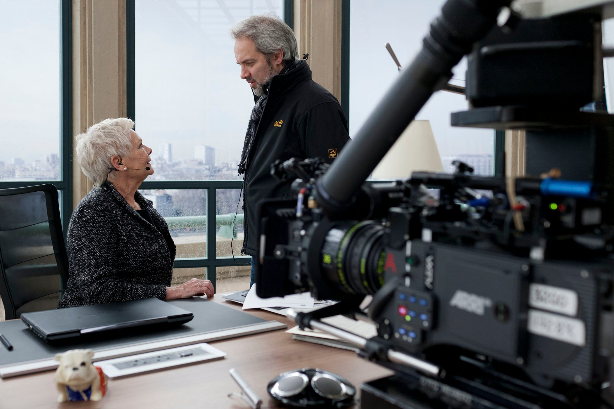 Judi Dench and Sam Mendes