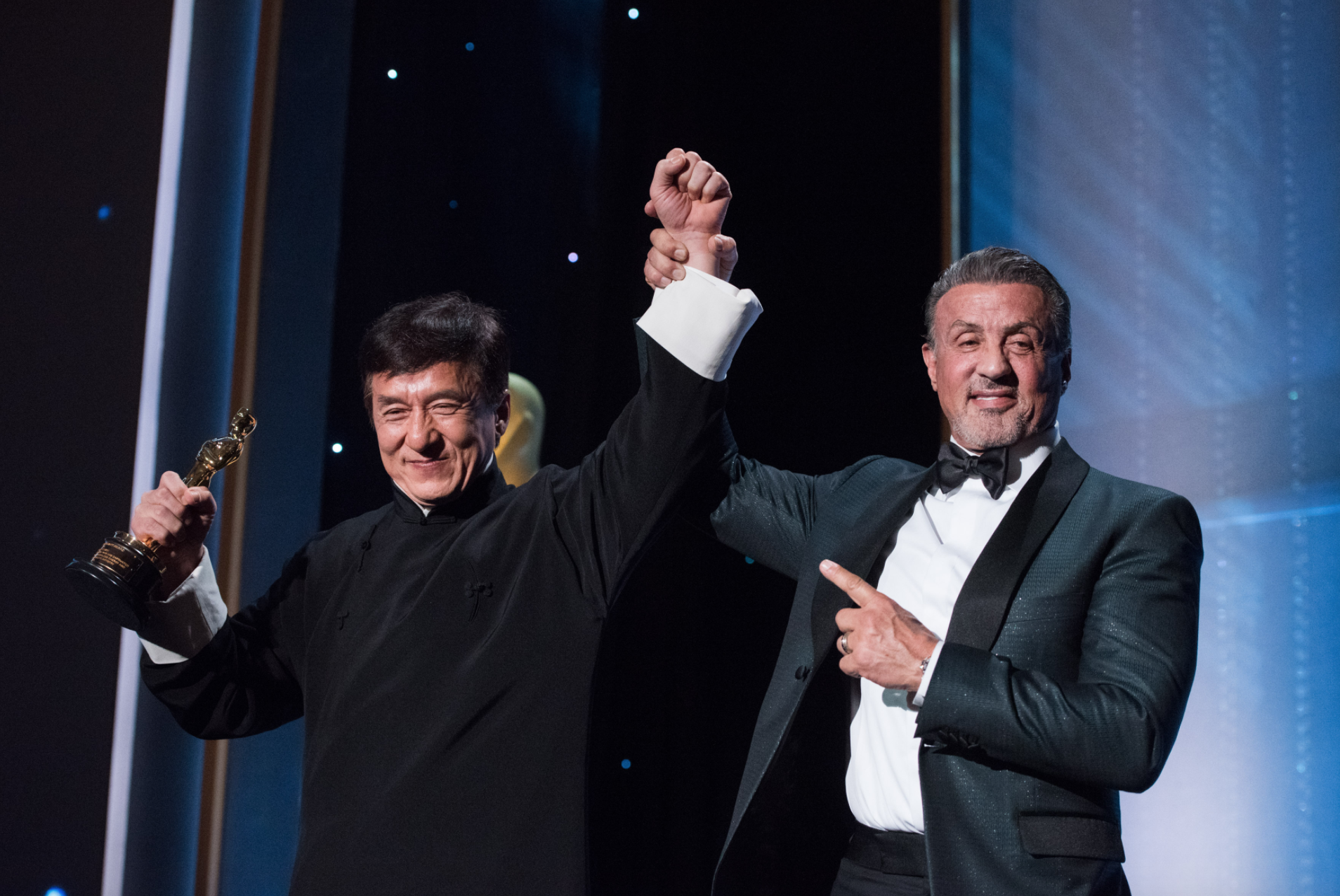 Sly Stallone Governors Awards