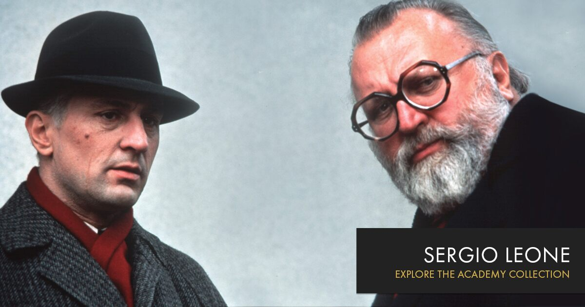 Sergio Leone Oscars Org Academy Of Motion Picture Arts And Sciences