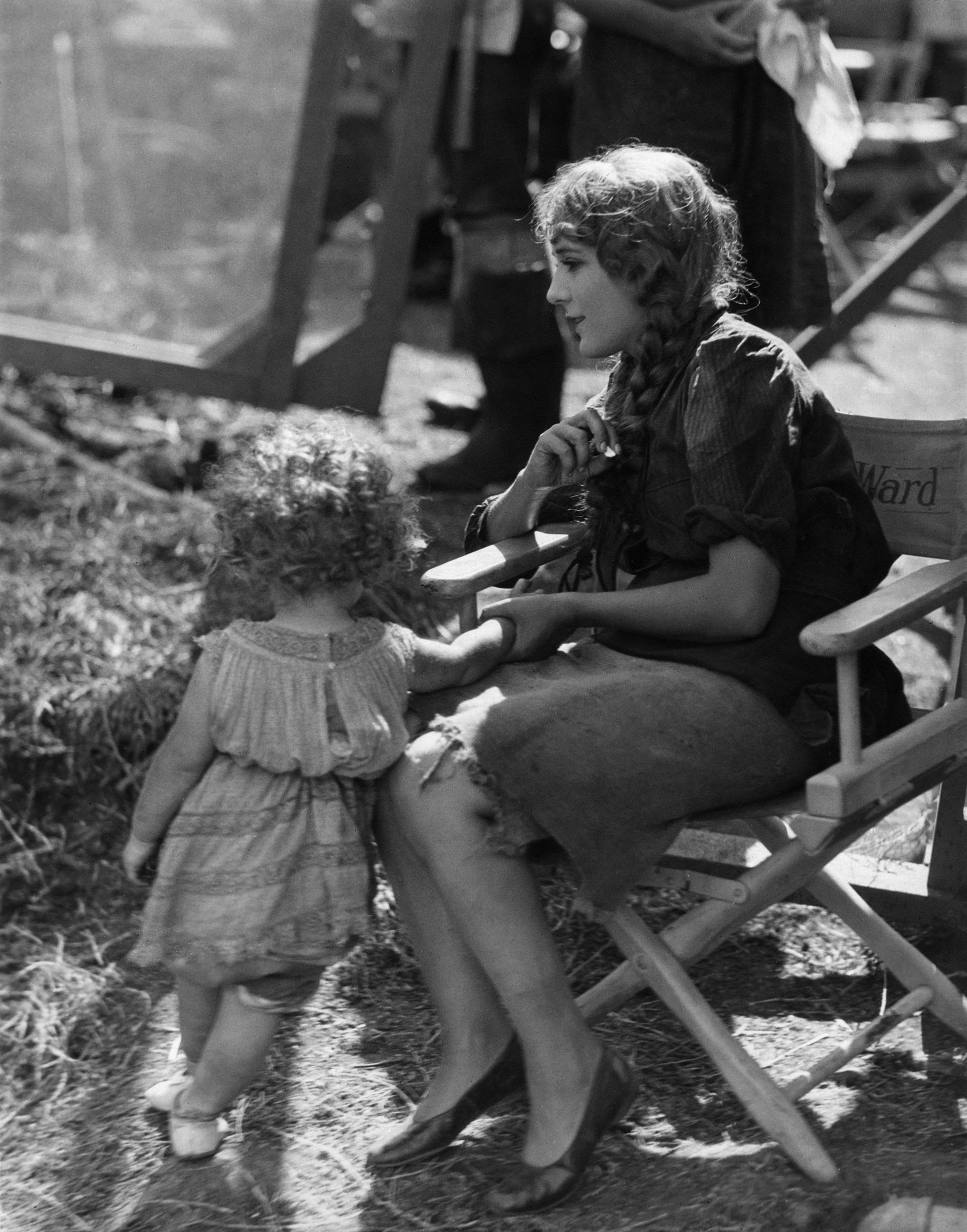 Mary Pickford and Mary Louise Miller