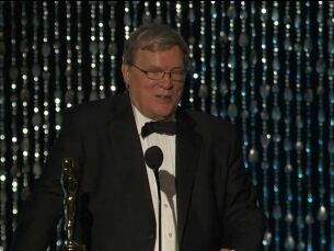 D.A. Pennebaker receives an Honorary Award at the 2012 Governors Awards