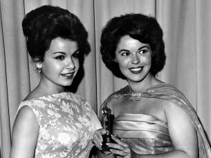 Shirley Temple and Annette Funicello at the Oscars®