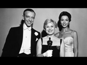 """""""The Nights of Cabiria"""" winning the Oscar® for Foreign Language Film"""