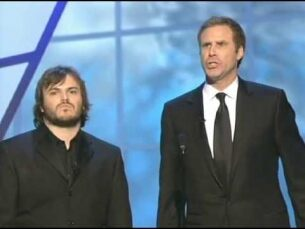 """Jack Black and Will Ferrell """"Get Off the Stage"""" Oscar® song"""