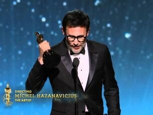 Michel Hazanavicius Wins Best Director: 2012 Oscars