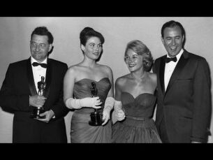 Jacques-Yves Cousteau and John Hubley winning Short Film Oscars®