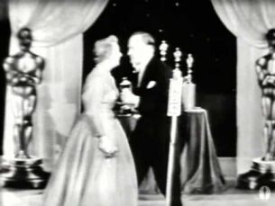 """Shirley Booth winning Best Actress for """"Come Back, Little Sheba"""""""