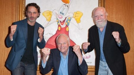 Andrew Lincoln, Richard Williams and Scott Wilson