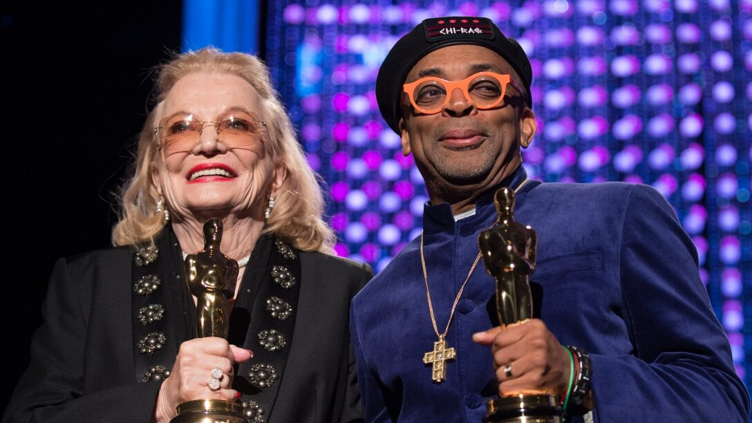 Honorary Award recipients Gena Rowlands and Spike Lee