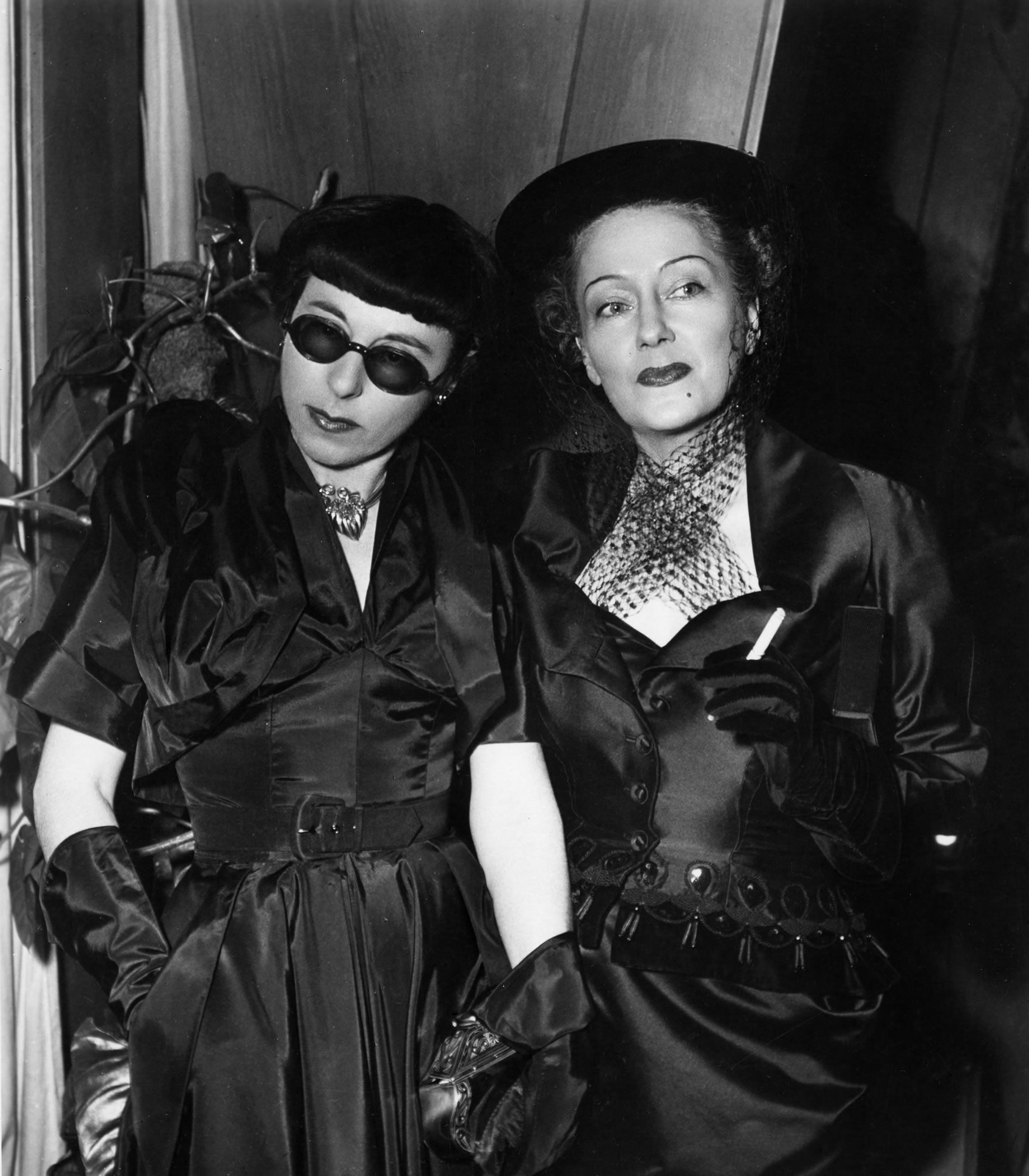 "Short of stature, actress Gloria Swanson gave Edith Head some valuable advice when they made this 1950 film: ""I always think, dress and carry myself tall."""