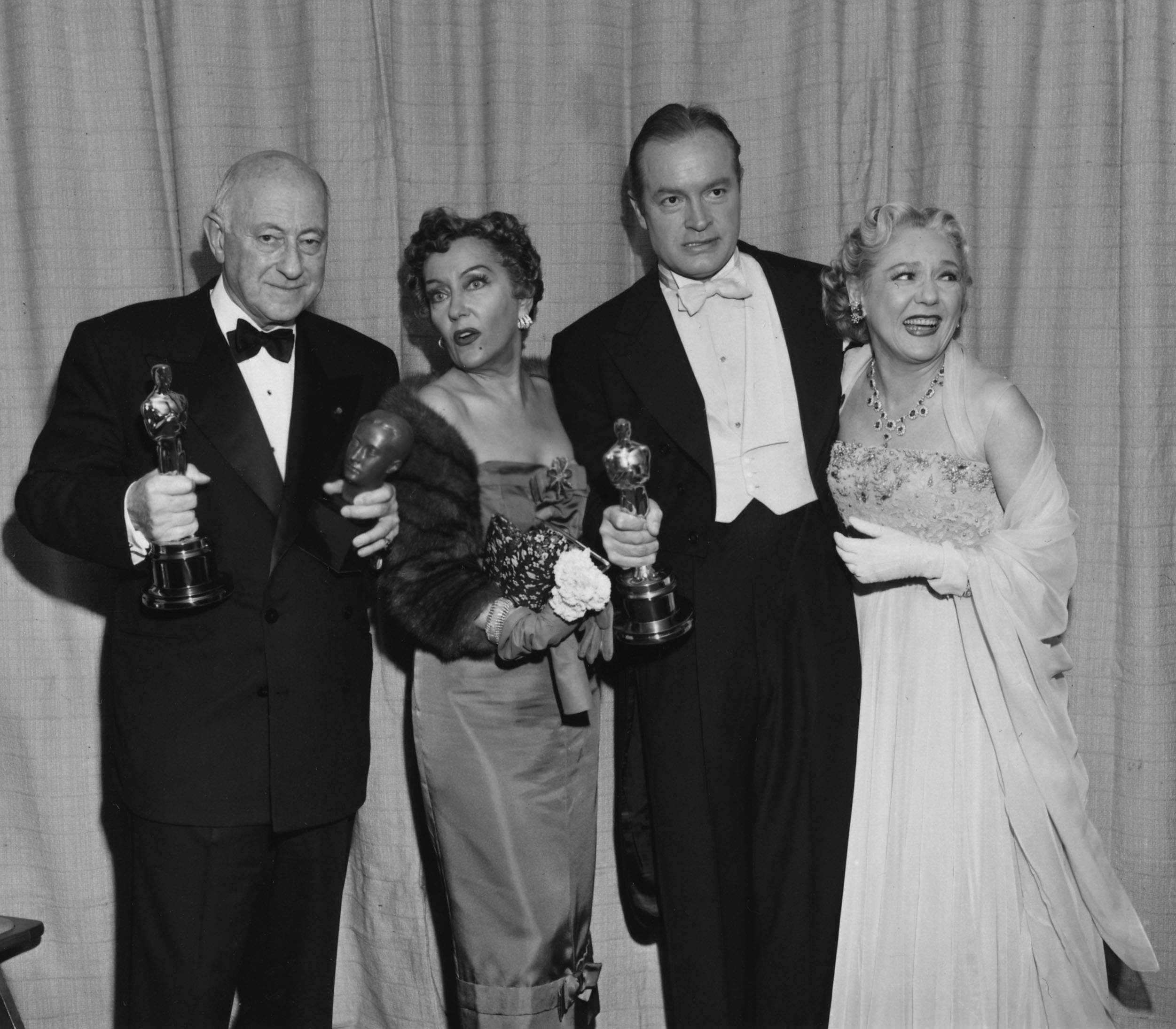 Cecil B. DeMille, Gloria Swanson, Bob Hope, and Mary Pickford