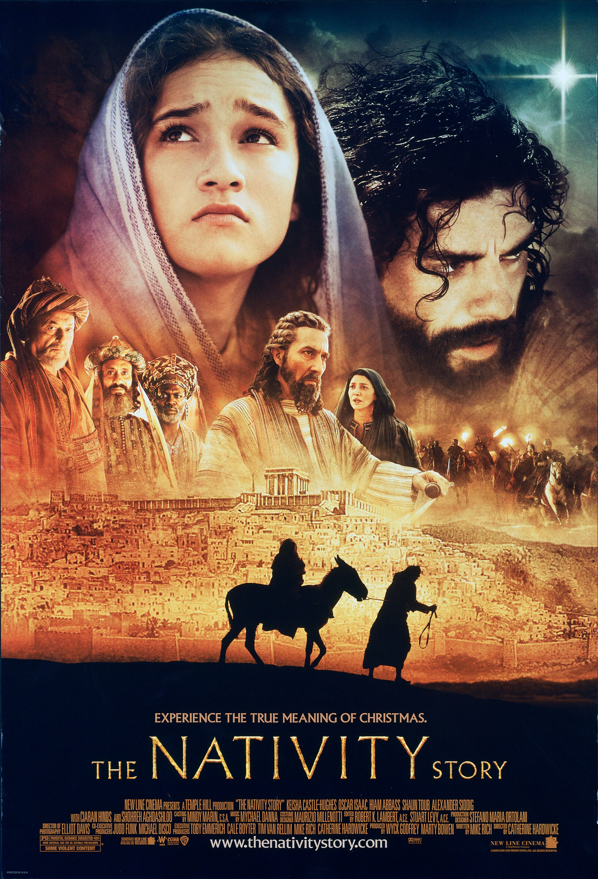 Movie Poster - The Nativity Story