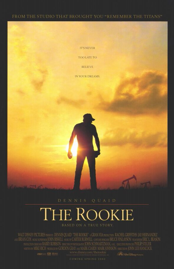 Movie Poster - The Rookie
