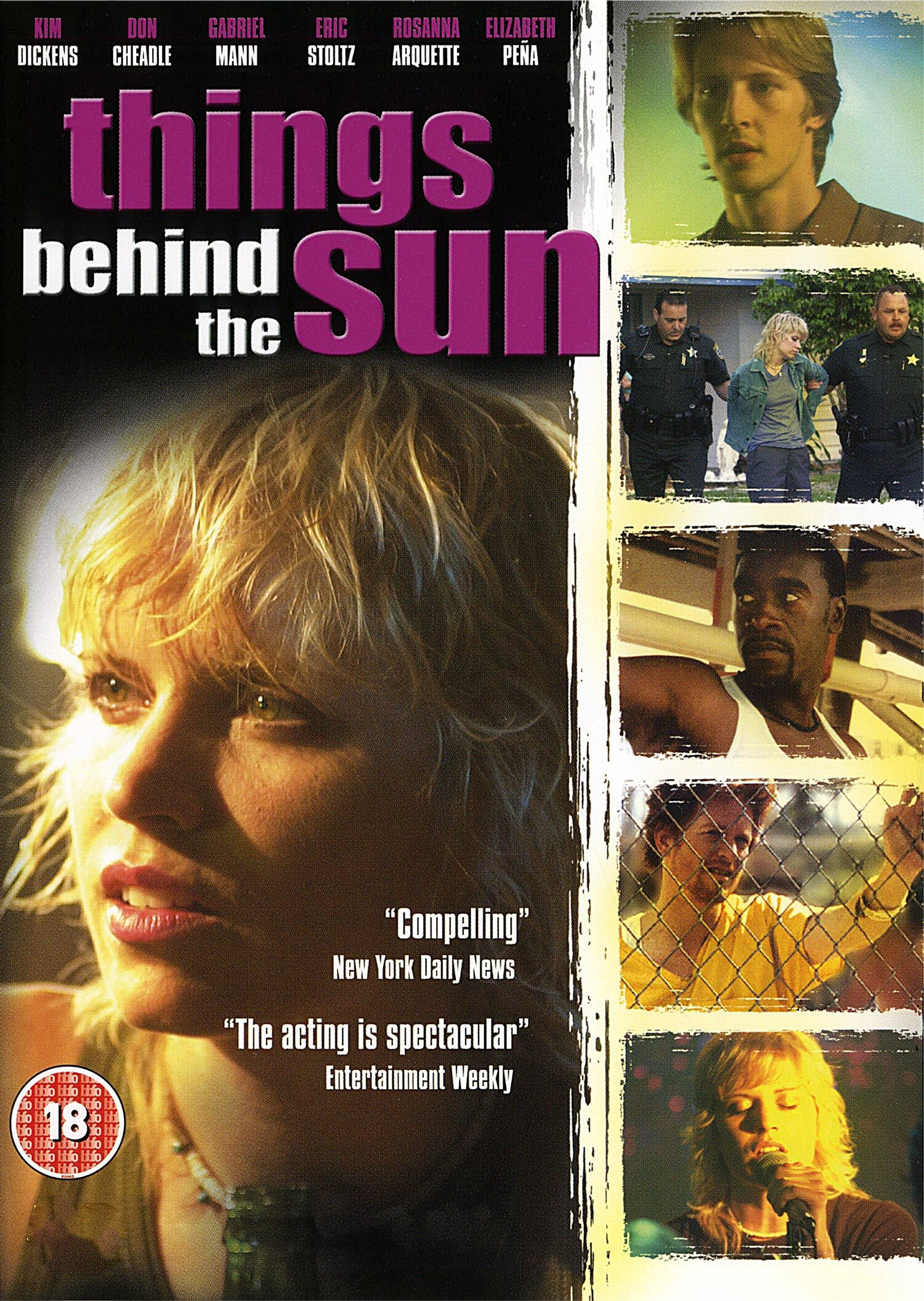 Movie Poster - Things Behind the Sun