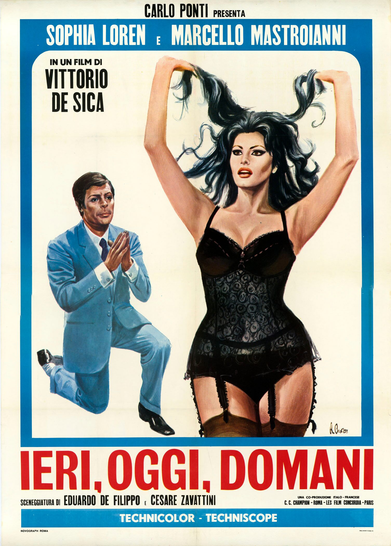 Italian theatrical poster